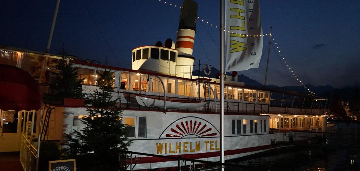 Aussen Schiff Restaurant Wilhelm Tell