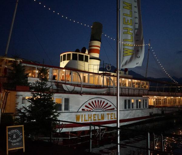 Schiffrestaurant Wilhelm Tell, Aussenansicht